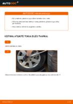 Kaip pakeisti priekinės pakabos spyruokles AUDI A4 B6