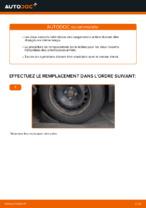 Comment changer et régler Ressort d'amortisseur RENAULT MEGANE : tutoriel pdf