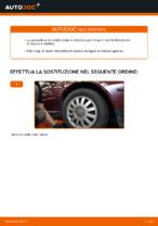 Quando cambiare Braccio di controllo AUDI A3 (8L1): manuale pdf