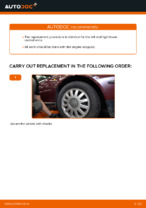 PDF Repair tutorial of car spares: AUDI A3 Hatchback (8L1)