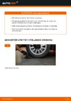 Montering Fjädersäte AUDI A3 (8L1) - steg-för-steg-guide