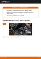 DIY-manual för byte av Hjullagersats i RENAULT MEGANE II Saloon (LM0/1_)