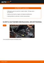 Kuinka vaihtaa ja säätää Jarrupalasarja : ilmainen pdf-opas