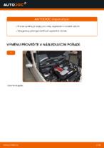 Návodý na opravu a údržbu Mercedes S204
