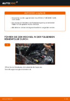 RENAULT MEGANE Handbuch zur Fehlerbehebung