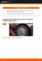 Austauschen von Dreieckslenker AUDI A3: PDF kostenlos