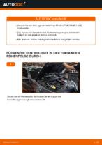 Wechseln von Radlagersatz Instruktion PDF für RENAULT MEGANE