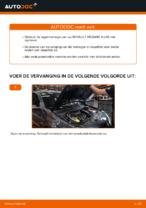 Wiellager vervangen RENAULT MEGANE: werkplaatshandboek
