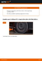 Menjava levi in desni Vilica RENAULT CLIO: spletni vodič