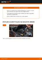 Mudar Jogo de pastilhas de travão Discos de freio RENAULT faça você mesmo - manual online pdf