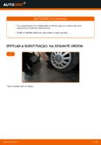 Como substituir um cubo da roda traseira em AUDI A3 8L1