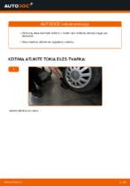 Kaip pakeisti galinio rato stebulę AUDI A3 8L1