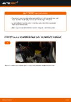 Come sostituire le pastiglie dei freni a disco anteriori FIAT DOBLO I (223)