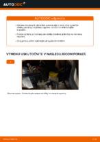 PDF návod na výmenu: Brzdové doštičky FIAT Doblo Cargo (223_) zadné a predné