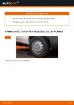 Výmena Rameno Zavesenia Kolies FIAT DOBLO: dielenská príručka