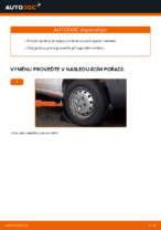 Instalace Řídící páka zavěšení kol FIAT DOBLO Cargo (223) - příručky krok za krokem