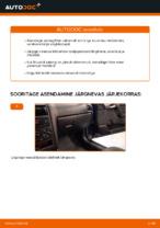 Kuidas vahetada salongiõhu diltrit autol OPEL ASTRA G (T98, F08, F48)