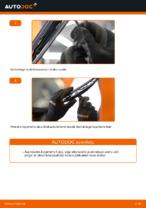 Kuidas vahetada esimesi klaasipuhasteid autol MERCEDES-BENZ VITO W638