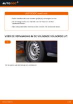 Hoe u de rubbers van de voorste stabilisatorstang van een OPEL ASTRA G (T98, F08, F48) kunt vervangen