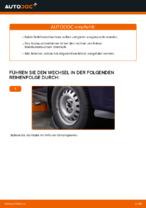 Wie der Austausch von Buchsen des vorderen Stabilisators bei OPEL ASTRA G (T98, F08, F48)-Autos funktioniert