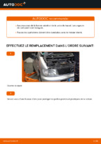 Comment remplacer un filtre à essence sur une MERCEDES-BENZ VITO W638