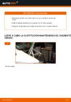Cambio Filtro de Aceite MERCEDES-BENZ VITO: tutorial en línea