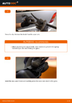 Replacing Window wipers MERCEDES-BENZ VITO: free pdf