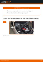 Step-by-step repair guide for Mercedes W202