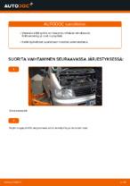 Milloin vaihtaa Polttoainesuodatin MERCEDES-BENZ VITO Bus (638): käsikirja pdf