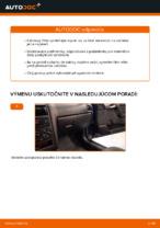 Ako vymeniť kabínový vzduchový filter na OPEL ASTRA G (T98, F08, F48)