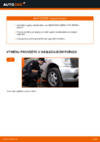Výměna Vzpěra stabilizátoru MERCEDES-BENZ VITO: zdarma pdf