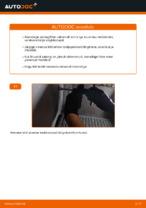 Kuidas vahetada salongiõhu diltrit autol MERCEDES-BENZ VITO W638