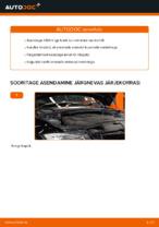 Kuidas vahetada mootoriõli ja filtrit autol BMW 3 (E90)
