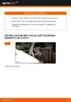 Ölfilter wechseln MERCEDES-BENZ VITO: Werkstatthandbuch