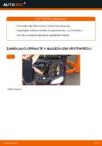 Brezplačna spletna navodila kako obnoviti Oljni filter OPEL ASTRA G Hatchback (F48_, F08_)