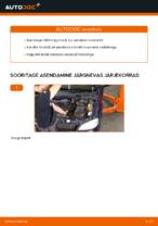 Kuidas vahetada mootoriõli ja filtrit autol OPEL ASTRA G (T98, F08, F48)