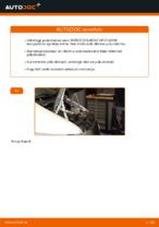 Piduriketas vahetus: pdf juhend MERCEDES-BENZ VITO