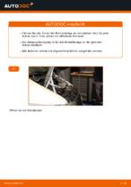 MERCEDES-BENZ Bremsbelagsatz hinten + vorne wechseln - Online-Handbuch PDF