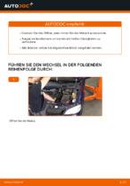 Hilfreiche Fahrzeug-Reparaturanweisung für Ersatz Motorölfilter OPEL