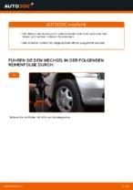 Nützliche Fahrzeug-Reparaturanleitung für oben vorne/hinten Spurlenker MERCEDES-BENZ