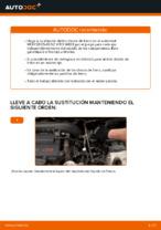 Cómo cambiar y ajustar Disco de freno MERCEDES-BENZ VITO: tutorial pdf