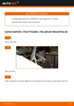 Vedlikehold MERCEDES-BENZ håndbok pdf