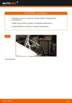 Kuinka vaihtaa ja säätää Jarrupalasarja MERCEDES-BENZ VITO: pdf-opas