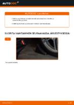 Kuinka vaihtaa itsenäisen jousituksen etupuolen alatukivarsi MERCEDES-BENZ E W210 malliin