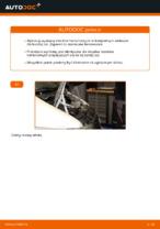 Jak wymienić i wyregulować Komplet klocków hamulcowych MERCEDES-BENZ VITO: poradnik pdf
