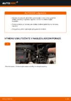 Ako vymeniť a regulovať Brzdové doštičky MERCEDES-BENZ VITO: sprievodca pdf