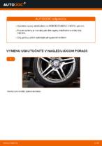 Vymeniť Vzpera stabilizátora MERCEDES-BENZ E-CLASS: zadarmo pdf