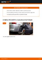 Instalace Tlumic perovani MERCEDES-BENZ VITO Bus (638) - příručky krok za krokem