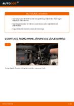 Mercedes Vito Mixto W639 samm-sammuline remondijuhend