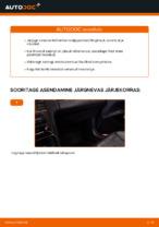 Kuidas asendada MERCEDES-BENZ E W210 salongi retsirkulatsiooni õhufiltrit.